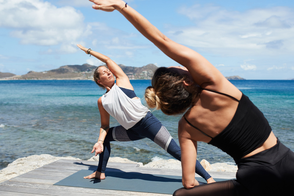 Yoga with Nanda St Barth Christopher Hotel